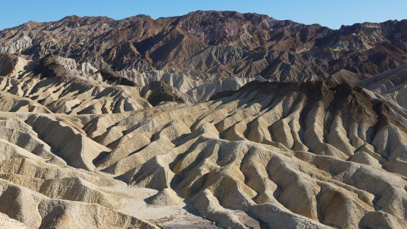Death Valley; Californie, Zabriskie Point