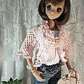 Un nouveau gilet pour yoko smart doll