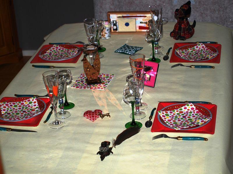 La table de nouvel an dans ma bonjotte for Table nouvel an