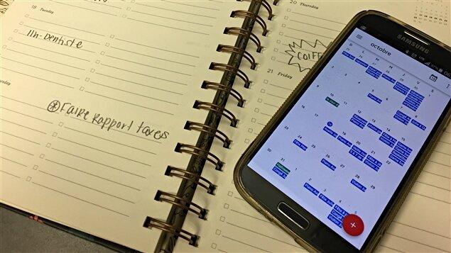 agenda papier électronique