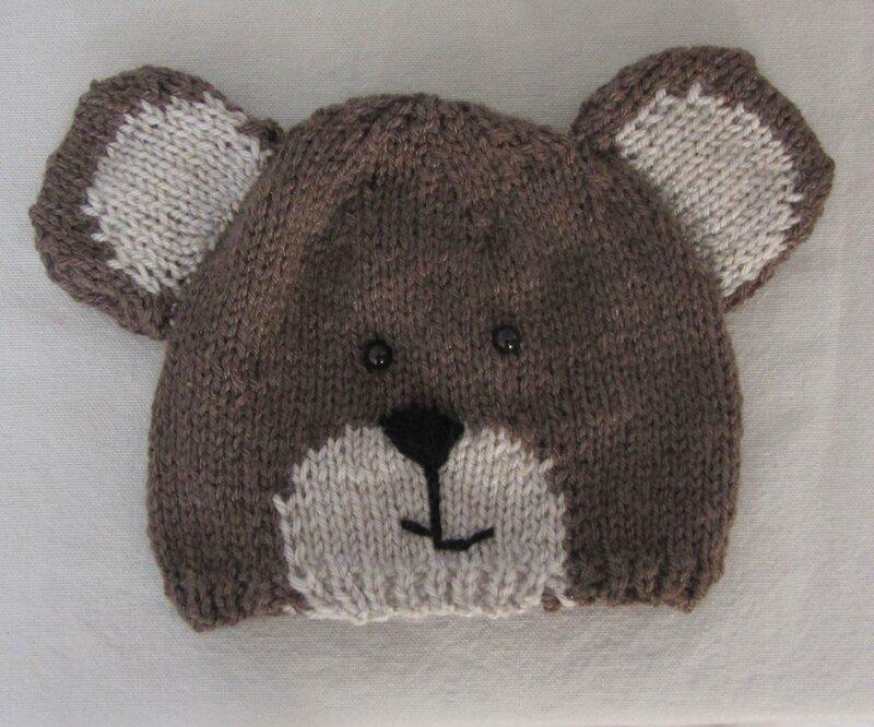 Exceptionnel Bonnet ours pour bébé - Les bidouilles de kikoune ZW31