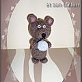 Tuto amigurumi - le bébé ours et son ballon