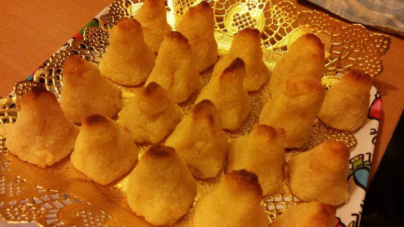 Rochers à la Noix de Coco @Janemexique