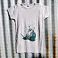 t-shirt escargot