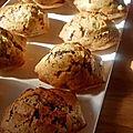 Madeleines sans beurre & chunks de chocolat