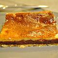 Tarte fine chocolat et mascarpone aux accents italiens comme j 'aime !!