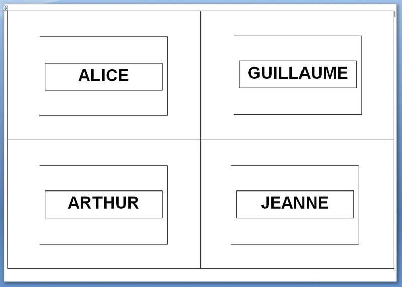 136_Outils pour la classe_Le livre des prénoms (PAGE PRENOMS)