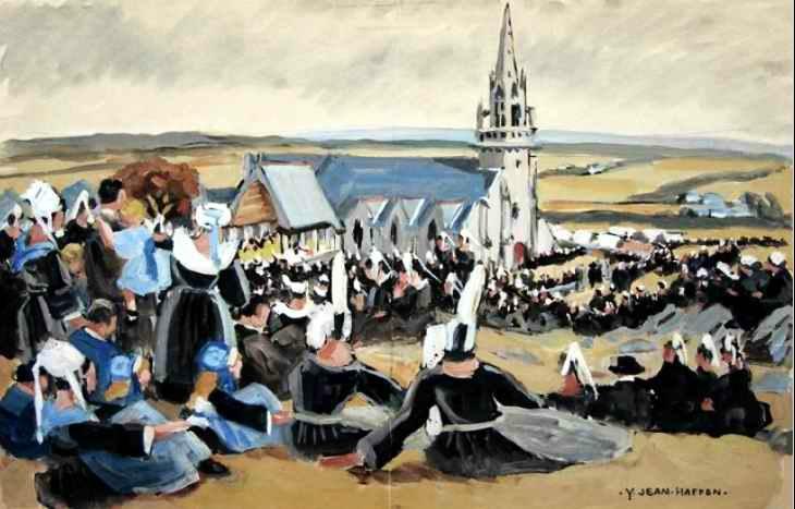 Coiffes bretonne Yvonne