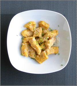 Gnocchis de courge butternut