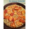 *saumon curry au lait de coco façon blanquette*