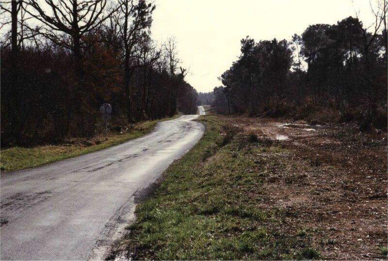 voie romaine vers Tête Sèche