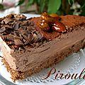 Entremets au chocolat ultrarapide parvé ou non et digression sur un anniversaire oublié