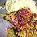 Cuisses de poulet tandoori masala thiercelin