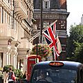 Taxi and Union Jack