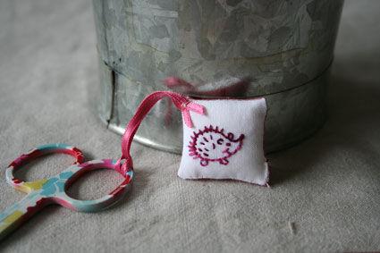 hérisson rose