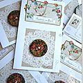 Boutons en fleurs Marimerveille. Carte TBC B13