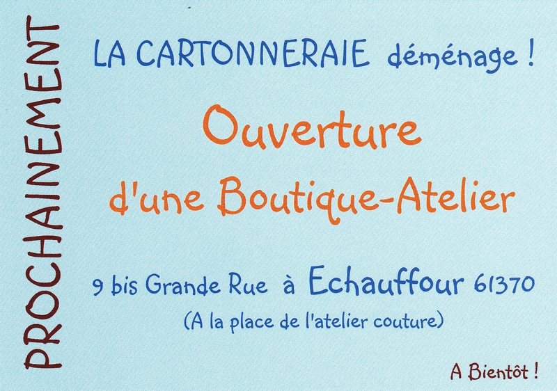 flyer boutique