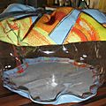 sac de rangement transparent, see throw transparent pouch (3)