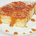 Gâteau à la faisselle, pomme, amande
