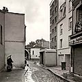 Rue du volga, 20ème, [paris series] © geoffrey