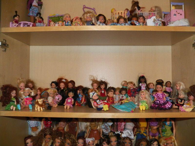 mes fillettes et petits garçons de barbie