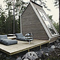 Une cabane en pleine nature