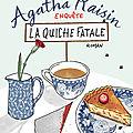 Agatha raisin enquête t.1 la quiche fatale, m.c. beaton