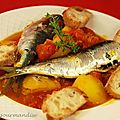 Bouillabaisse de sardines