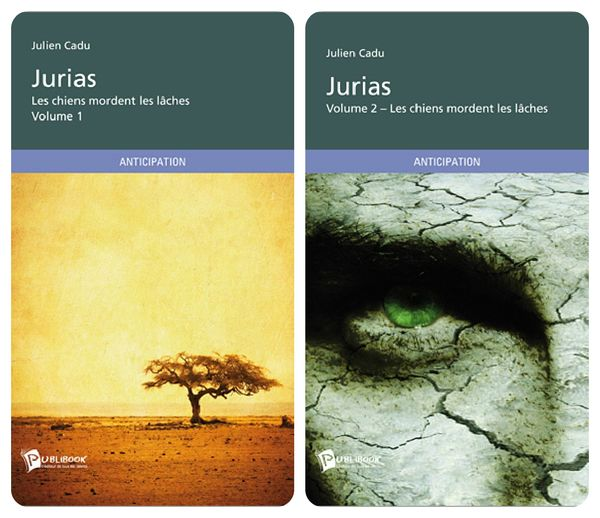 jurias, roman anticipation, julien cadu