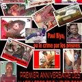 1er anniversaire des massacres de février 2008: le code a commandé des cercueils pour paul biya