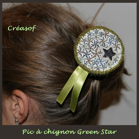pic à chignon green star 1