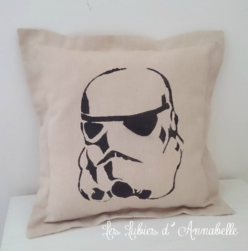 coussins star wars Soldat de l'Empire