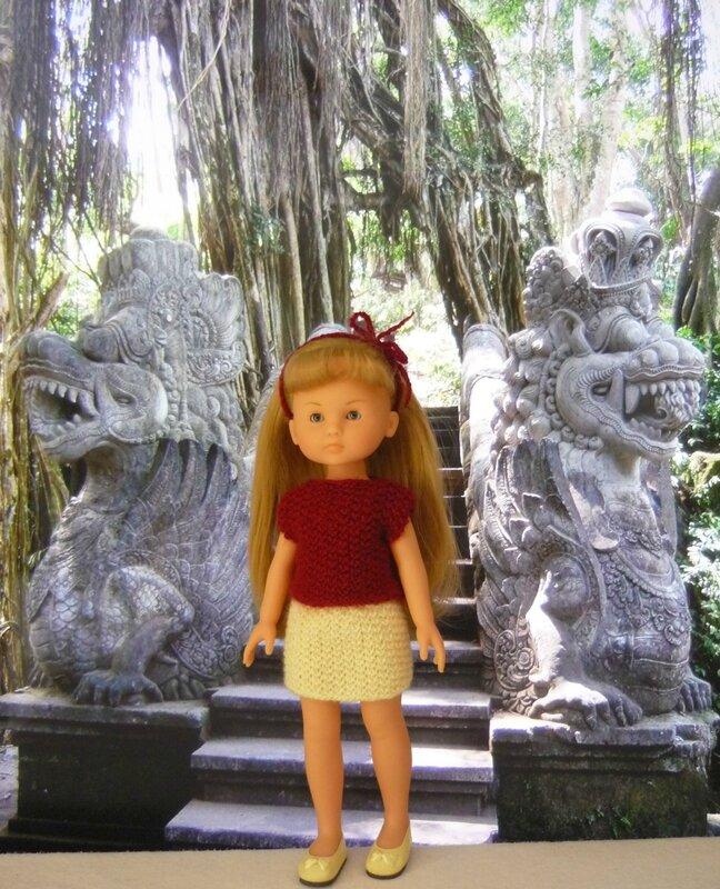 Ubud le sanctuaire des singes (2)
