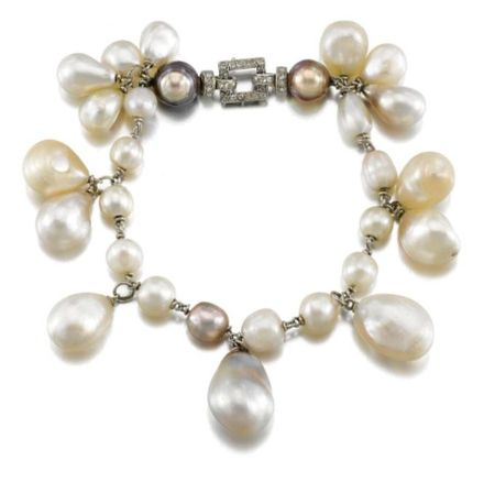 NATURAL_PEARL_AND_DIAMOND_BRACELET__CIRCA_1935
