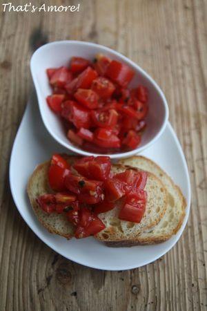 Bruschetta à la tomate 3