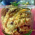Salade de boulghour et petits artichauts à la marocaine