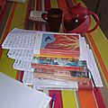 Le chemin des livres dans mon blog ...