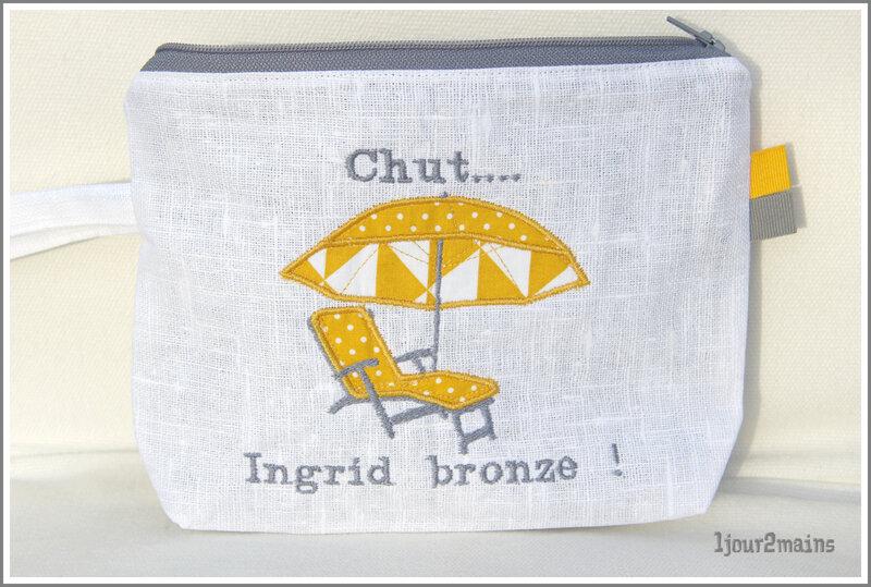 trousse chut Ingrid bronze