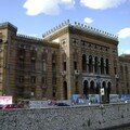 Bosnie, Sarajevo, ancienne mairie, ancienne bibliotheque