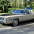Cadillac eldorado custom classic biarritz coupe de 1978 (Retrorencard avril 2011) 01