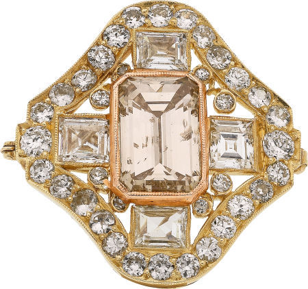 Colored_Diamond__Diamond__Gold_Pendant_Brooch