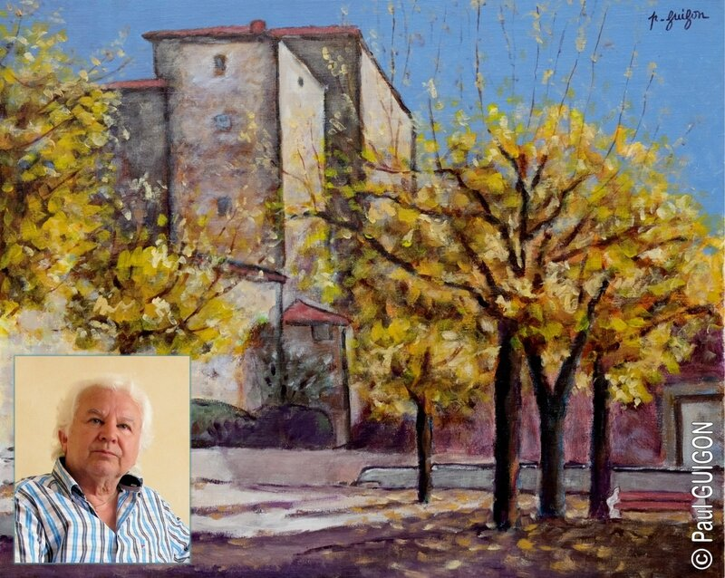 Paul guigon artiste peintre for Artiste peintre pau