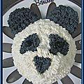 Mon gâteau panda