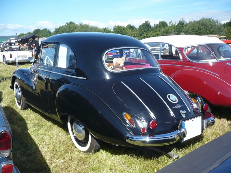 IFA F9 berline 2 portes 1955 Eutingen im Gau (2)