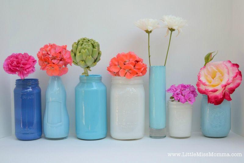 Gut gemocht Le DIY du week-end : Customiser des bocaux en verre - Mon Shop Vintage TE86