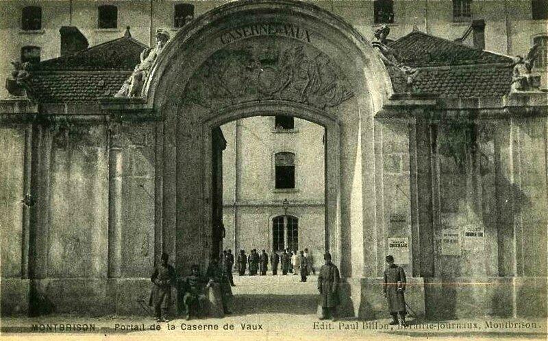 caserne de Vaux Montbrison
