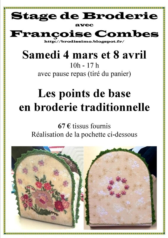 stage broderie