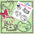 Forum digiscrap party : pack de tampons