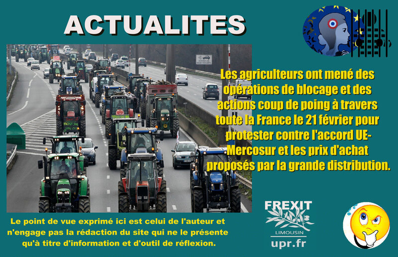 ACT AGRICULTEURS MERCOSUR