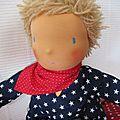 Malo : poupée waldorf garçon 42 cm ... adopte